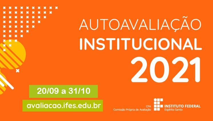 Prazo para participar da Avaliação institucional 2021 já começou