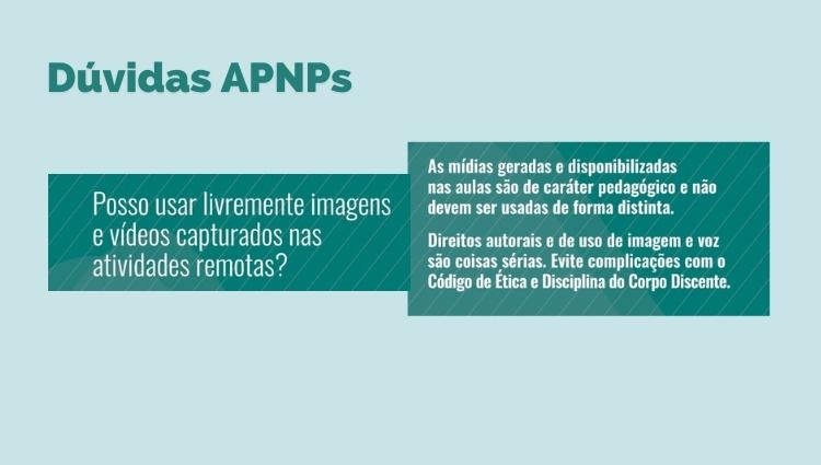 Dúvidas APNPs
