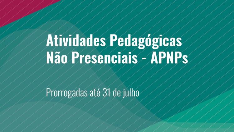 Conselho Superior define prorrogação das APNPs até 31 de julho