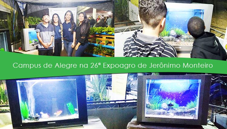 Campus de Alegre participa da 26ª Expoagro de Jerônimo Monteiro