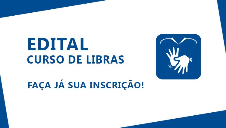 Seleção de alunos para o curso de extensão Língua Brasileira de Sinais (Libras)