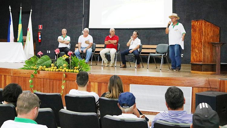 Encontro estadual de citricultores