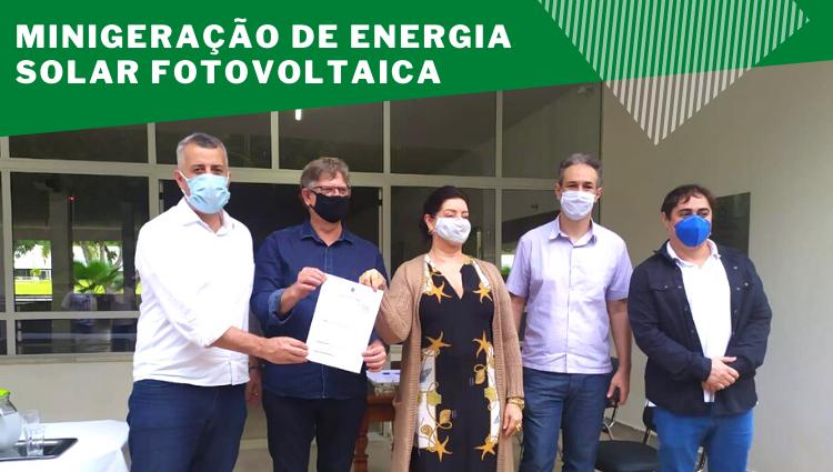 Implantação de sistema de minigeração de energia solar fotovoltaica no Campus de Alegre