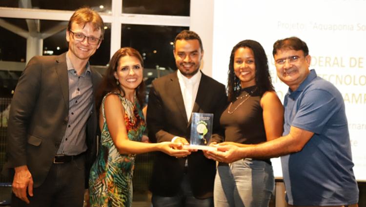 Projeto aquaponia solidária ganha prêmio de sustentabilidade Farol do Bem