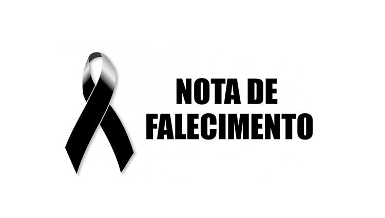 Nota de Falecimento - Natália Mendonça Campos