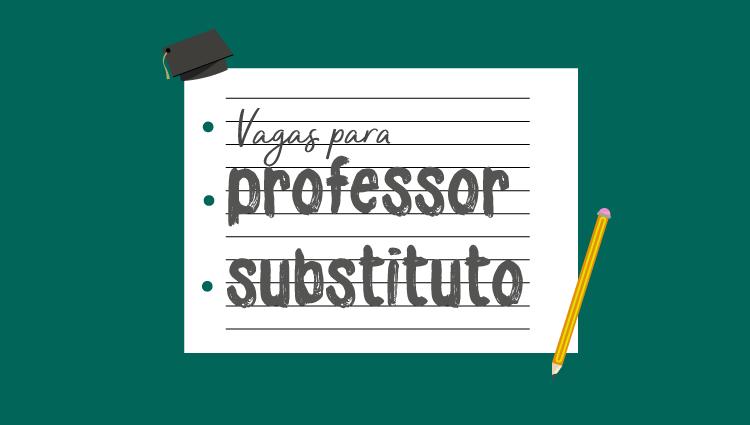 Edital 01/2019 - Professor Substituto com vaga para o Campus de Alegre