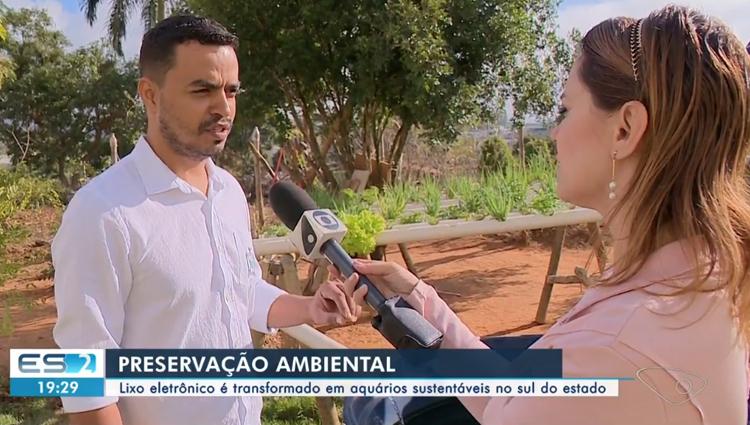 Projeto do Ifes - Campus de Alegre transforma lixo eletrônico em aquários sustentáveis
