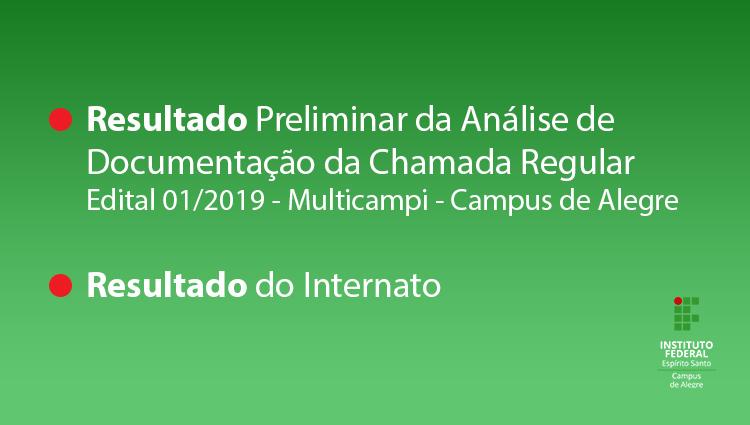 PS 1/2019 - Cursos Técnicos - Multicampi