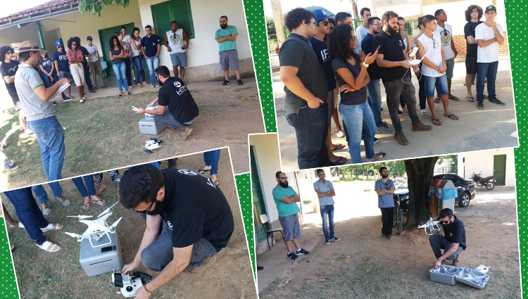 Campus de Alegre realiza minicurso sobre drones