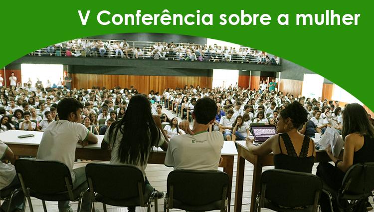 """V Conferência sobre a mulher: """"o feminismo na política atual"""""""
