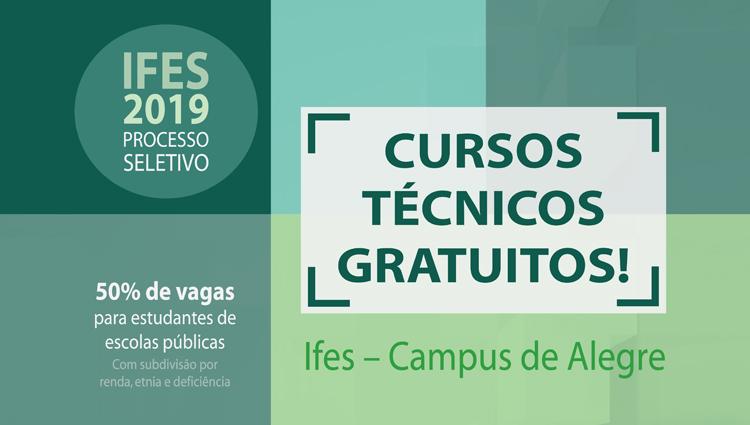 Processo Seletivo 2019/1 - Cursos Técnicos