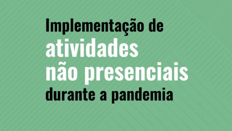 Ifes iniciará o planejamento para implementar atividades não presenciais durante pandemia