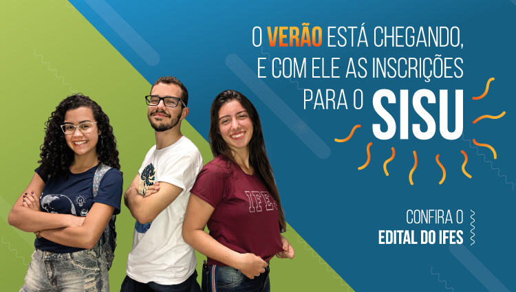 Sisu 2020/1: Publicado edital interno do Ifes