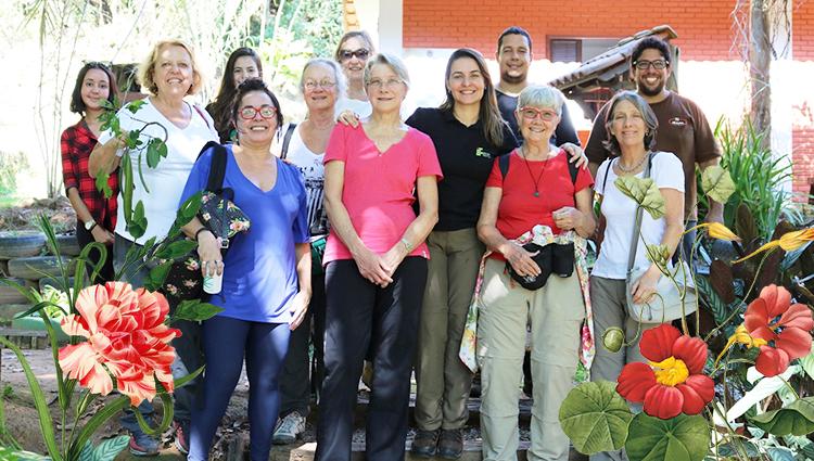 Campus de Alegre recebe a ilustradora botânica Dulce Nascimento para ministrar oficina
