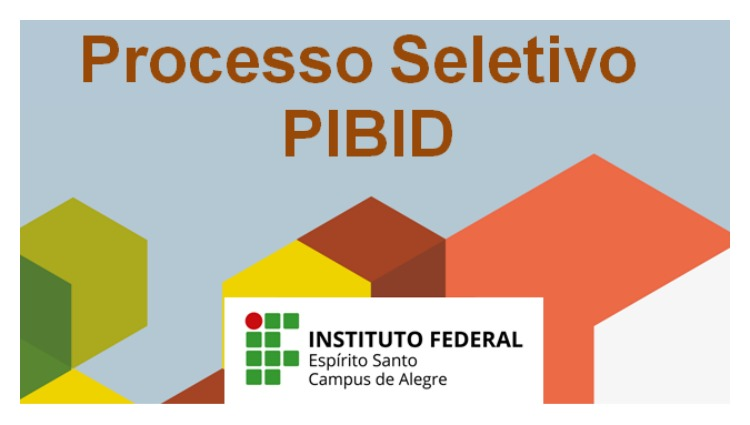 Processo Seletivo PIBID 2017