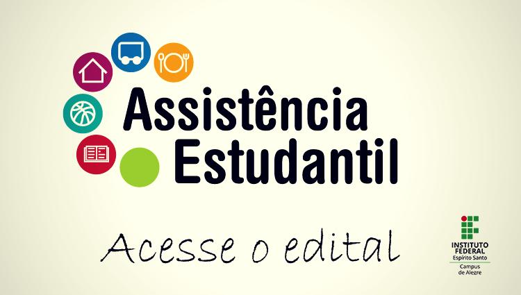 Edital 01/2020 - Assistência Estudantil