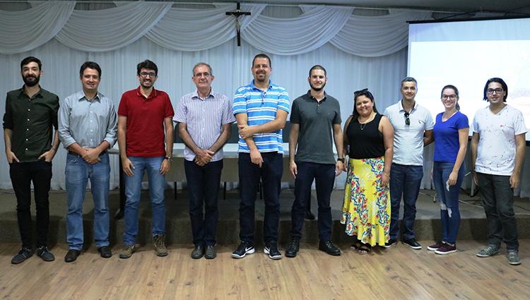 Incubadora Sul Capixaba recebe a visita do diretor da Fundepar