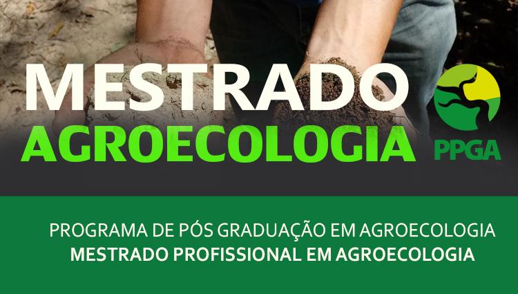 Inscrições abertas para o Mestrado Profissional em Agroecologia