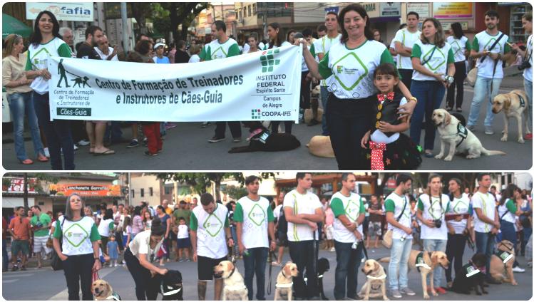 Campus de Alegre participa do Desfile Cívico em comemoração à Festa de Alegre